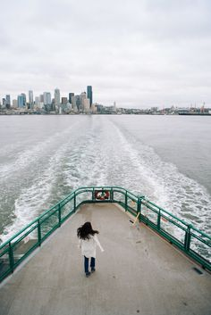 The best way to travel by Ferry to seattle. On the Puget Sound, enjoy a trip across the ocean to explore new places in the greater seattle area. Bainbridge Island Ferry, Bainbridge Island Washington, Washington Things To Do, Seattle Washington, Washington State, Seattle Travel Guide, Moving To Seattle, Seattle Photography, Travel Photography