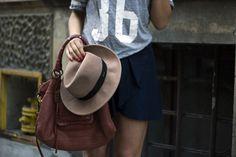 Karolina Baszak wearing hathat fedora hat