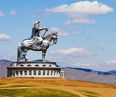 Genghis Khan Equestrian Statue, Tsonjin Boldog, Mongolia    What It Commemorates: The infamous founder of the Mongolian Empire, known locally as Chinggis Khaan.