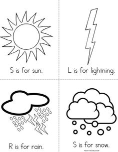 W is for Weather from TwistyNoodle.com