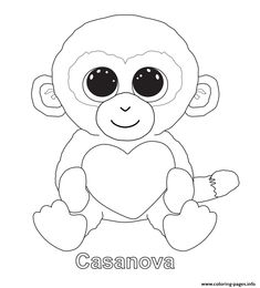 Beanie Boo Coloring Pages Toys Coloring Pages Coloring Pages