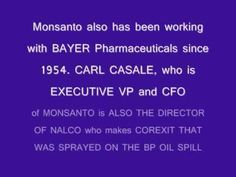 BEYOND SHOCKING!!! ▶ What does Bill Gates, Monsanto, S510, Xe, BP oil spill, chemtrails and vaccines have in common? V2! - YouTube