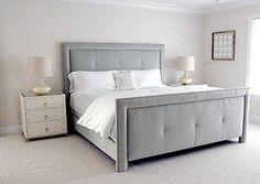 Upholstered Bed.