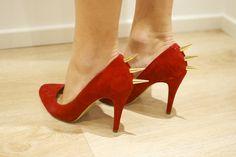 spike heels.  yea!