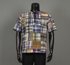 Mens 1960s Shirt  McGregor Authentic Bleeding by jauntyrooster