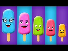 The Finger Family Ice Cream Family Nursery Rhyme - Ice Cream Finger Family Songs - added by fingerfamilysong in Best Finger Family Songs 2017 Baby Finger Song, Finger Rhymes, Sister Finger, Mommy Finger, Finger Family Rhymes, Family Songs, Kids Songs, Lollipop Candy, Candy Pop