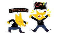 The three G's in Gregg stand for GAY