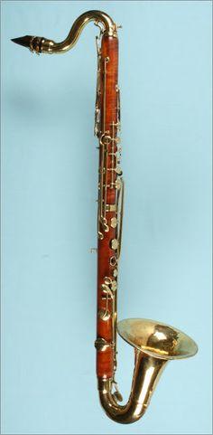 Bass clarinet (anon. 1850)