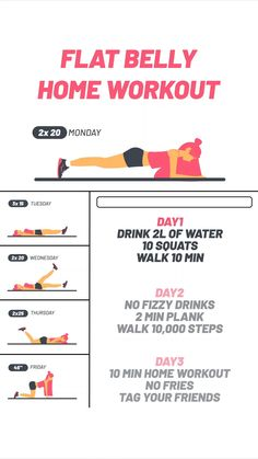 Can you follow all the steps for 30 days? Consistency is key to see results. Start today, and get ready to transform your body. Home Body Weight Workout, Weight Loss Workout Plan, At Home Workout Plan, At Home Workouts, Gym Workout Videos, Gym Workout For Beginners, Beginner Fitness Plan, Fitness Herausforderungen, Fitness Workout For Women