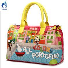 CAT home bag 2016 New women bags Italy Handbag Retro Handmade Bolsa Feminina Candy Bolsos famous designer crossbody shoulder bag