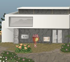 """5/10/12 Housing reset day at 4191 Talama Trends, my beautiful """"old"""" home."""