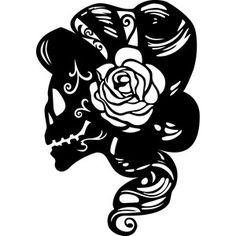 Silhouette Design Store - View Design #153184: skeleton bride