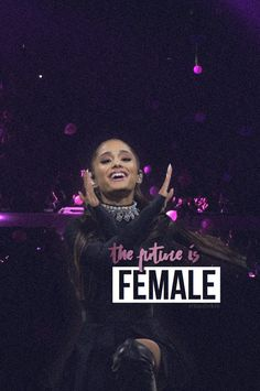All my ladies you are powerful beautiful and loved and don't let anyone or anything take that away from you! Cat Valentine, Ariana Grande Wallpapers, Ariana Grande Quotes, Secret Crush Quotes, Bae, Dangerous Woman Tour, Nickelodeon, Queen, Celebs