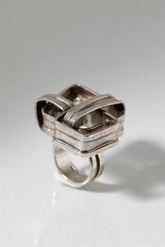 Ring designed by Claes Giertta, Sweden. 1970's.