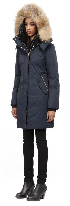 Mackage - VILLA ARMY WINTER DOWN PARKA WITH HOOD FOR WOMEN