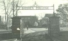 Goshen College Entrance by Mennonite Church USA Archives