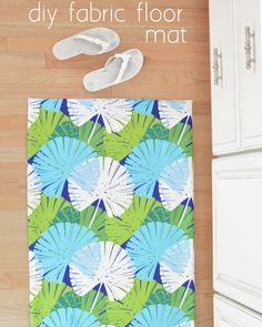 DIY Fabric Floor Mat