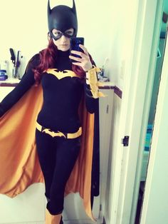 Batgirl cosplay by Kasandra cowl by reevzfx