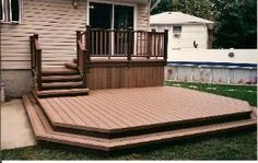 how to make a fire pit pad for deck,free building plans for floor roof over a deck,is ther any glue for composite decking, Pergola Ideas For Patio, Patio Bar, Deck With Pergola, Pergola Patio, Pergola Plans, Diy Patio, Porch Ideas, Backyard Ideas, Make A Fire Pit