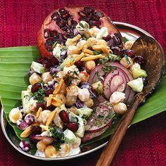 Kichererbsensalat Salad Bar, Cobb Salad, Sweet Chili, Quick Recipes, Soul Food, My Favorite Food, Food For Thought, Pasta Salad, Clean Eating