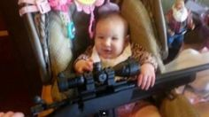 Controversy Over Facebook Photo of Baby Holding Rifle - Conservative Byte