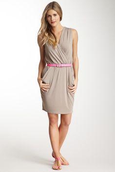 Modal Jersey Surplice Dress on HauteLook