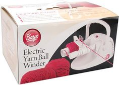 Electric Yarn Ball Winder-White