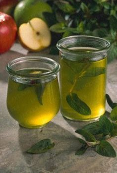 Minzgelee mit Apfelsaft Rezept