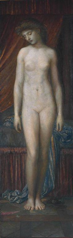 'Psyche', 1880 by George Frederick Watts (English, 1817-1904)