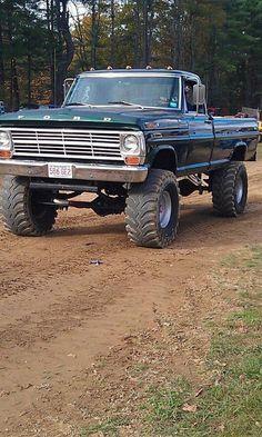old ford trucks Ford Pickup Trucks, Lifted Ford Trucks, Big Trucks, Chevy Trucks, Lifted Chevy, Pickup Camper, Farm Trucks, Redneck Trucks, Lifted Jeeps