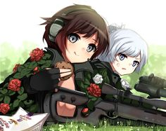 Ruby and Weiss seem to have gotten into Gun Gale Online