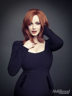 Christina Hendricks has brought sexy back. And by sexy I mean curvy women, women who have a SHAPE. She is perfect as Joan on 'Mad Men', and I love that she has reminded us it's ok to not be a stick figure. Thank you Christina!