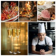 The Line's new Chef de Cuisine Vincent Wong unveils additional highlights for the Perrier-Jouët F1 Sunday Champagne Brunch at The Line at Shangri-La Hotel, Singapore on Singapore's F1 weekend on Sunday, 20 September 2015.