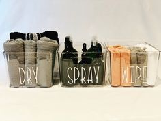 """Boss Labels on Instagram: """"Need a cute and easy way to organise under the sink these cute storage containers are the answer! 😍  This BPA free container features a…"""" Pantry Organisation, Organization, Storage Containers, Magazine Rack, Boss, Sink, Kitchen, Cute, Instagram"""
