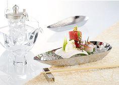 【レストラン・アイテム】ステンレス製 舟形盛器