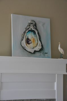 paintings of oyster shells - Google Search