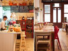 7 restaurantes porteños que están en boca de todos - Planeta JOY Bar, Table, Furniture, Home Decor, Restaurants, Kitchens, Decoration Home, Room Decor, Home Furniture
