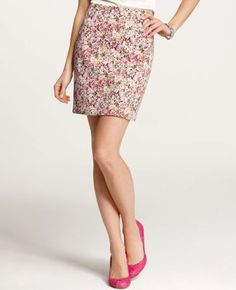 Pressed Palette Pencil Skirt