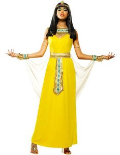 Goddess Cleopatra Costume. http://www.getiton-fancydress.co.uk/adult-costumes/around-the-world/eygptians/goddess-cleopatra-costume#.UnfYd1OnIYI