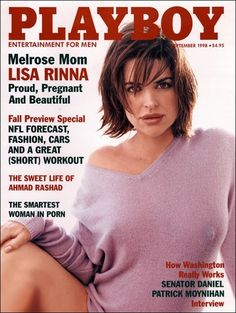 Playboy magazine cover September 1998