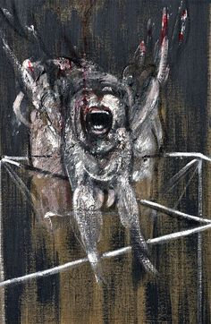 francis bacon: detalle: fragment of a crucifixion 1950 – verseando