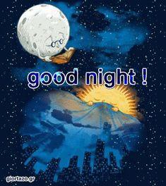 Καληνύχτα Κινούμενες Εικόνες Καλό βράδυ Ταξίδια ονείρου giortazo Good Night Gifs Night Messages, Happy Friendship Day, Angel Pictures, Sleep Tight, Morning Light, Good Thoughts, Sweet Dreams, Good Night, Blessed