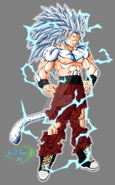 Super Saiyan Apex idea by JayDRivera on DeviantArt Dragon Ball Image, Dragon Ball Gt, Arte Grunge, Character Art, Character Design, Dope Cartoon Art, Anime Warrior, Anime Artwork, Anime Characters