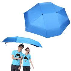 Un ombrello XL per due