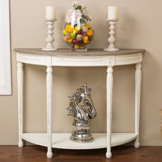 Found it at Wayfair - Baxton Studio Vologne Console Table