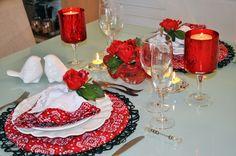 Mesa posta para Dia dos Namorados | Blog da Michelle Mayrink
