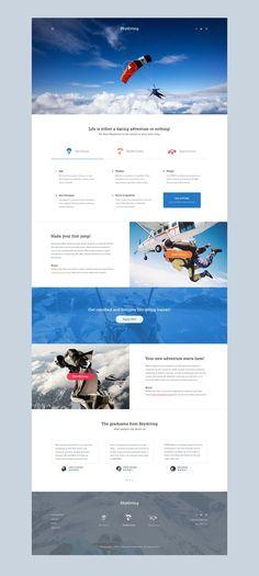 (2) Skydiving | Interactive / UI | Pinterest