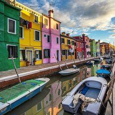 Burano, Venice, Italy www.sognoitaliano.it