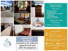 Apartment for rent in Antigua Guatemala, Cañadas de Belen. Visit our property, contact us with any inquiry, we will be happy to assist you!  #realestate #realestateagent #Guatemala #Guatemalarealestate #landinguatemala #guatemalacity #housesinguatemala #buildingsinguatemala #apartmentsguatemala #apartmentsforrent #apartmentsforsale #housesforrent #housesforsale #businesspremises #buyingland #sellingland  #luxuryrealestate #realestatelife #MiamiRealEstate #realestateinvesting…