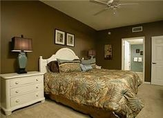 Flloor plan & square footage- (A) - 1318nsf Monthly: Fa, Wi, Sp Flooring: Tile w/area rug in livingroom, Carpet in bedrooms TV(4), DVD(1), VCR(1) L/R:Tan microfiber sofa (no sleeper), wicker chair & o...